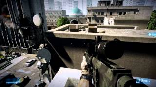 Battlefield 3 - Gameplay on 7950 Full HD