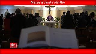 Pape François-Messe à Sainte Marthe 2020.03.28