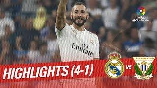 Real Madrid 4-1 Leganes [HighLights]