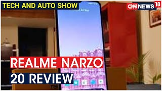 Realme Narzo 20 Review | Tech & Auto Show | CNN News18 - Download this Video in MP3, M4A, WEBM, MP4, 3GP