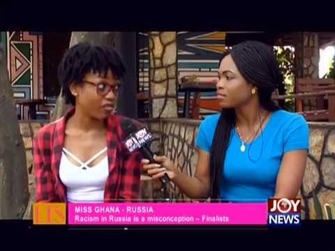 Miss Ghana – Russia - Let's Talk Entertainment on JoyNews (31-7-18)
