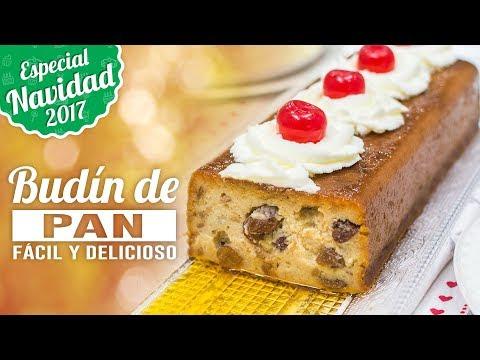BUDÍN O PUDÍN DE PAN | ESPECIAL NAVIDAD | Quiero Cupcakes!