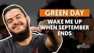 Wake Me Up When September Ends - Green Day (aula de violão completa)