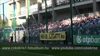 preview picture of video 'GYŐR  FERENCVÁROS  0 1    2014 08 17  SZURKOLÁS'
