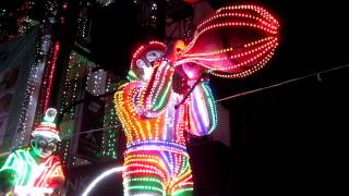 preview picture of video 'It's the lights of  Jagaddhatri Puja in Chandannagar...Take that....2013'
