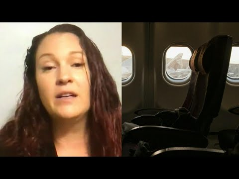 Woman falls asleep on a plane from Toronto to Quebec and wakes up to find herself alone in the dark, still onboard.