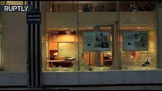 Разграбленные магазины и битые витрины: последствия протестов «жёлтых жилетов» в Париже