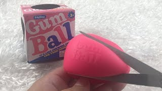 WHATS INSIDE BUBBLE GUM BALL SQUISHY
