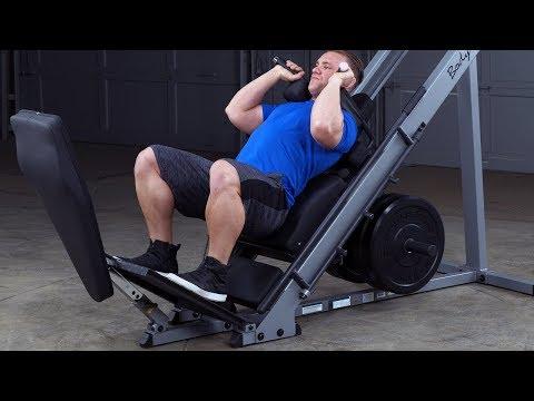 Body-Solid Leg Press & Hack Squat GLPH1100 (BodySolid.com)