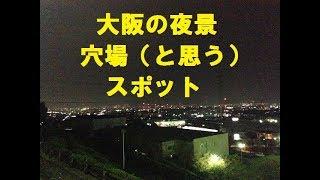 穴場大阪府内の夜景スポット一部でも知られているかも