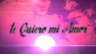 Kros Feat. Kalex - Te Quiero Mi Amor (Kros Original Mix) (Official Lyrics Video)