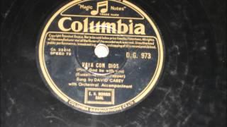 Vaya Con Dios - David Carrey - 1954