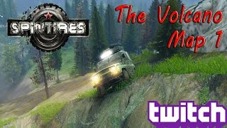 SpinTires: MP Muddin' - The Volcano Map Part 1!