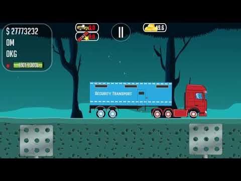 Trucker Joe Trucks Gold Bank Game