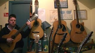 """The Dubliners: """"Maloney Wants A Drink"""" (classical guitar cover)"""