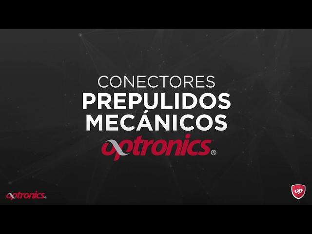 Conectores prepulidos mecánicos optronics