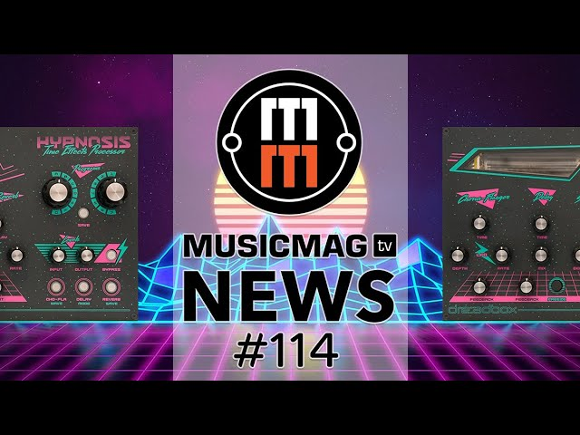 MUSICMAG TV NEWS #114: Dreadbox Hypnosis, Korg Volca Modular, свежак от Behringer и др.
