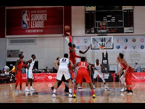 The Toronto Raptors Advance To The MGM Resorts Summer League In Thrilling  Fashion vs The Hornets 01a876f0f