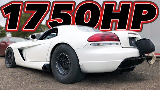 Turbo BUSA vs Turbo Viper, NO PREP, Drag Races, Drifting & MORE!