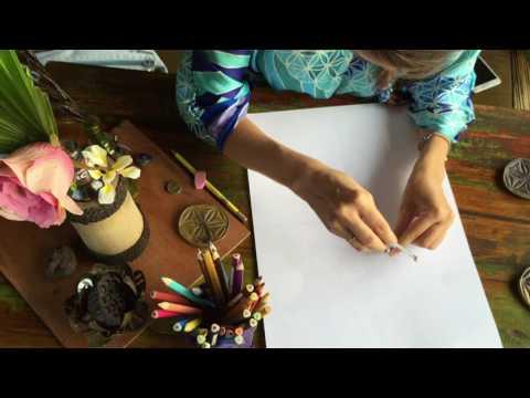 Как нарисовать цветок жизни! Урок номер 1