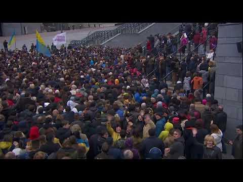 Дебаты на НСК Олимпийский: Петр Порошенко - Владимир Зеленский