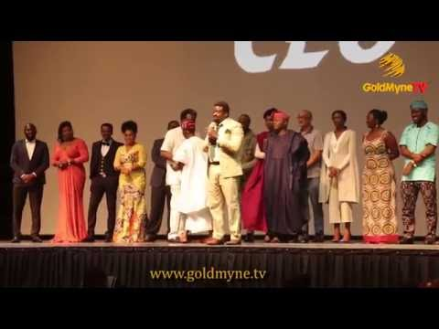 KUNLE AFOLAYAN PREMIERES HIS NEW MOVIE, THE CEO, IN GRAND STYLE