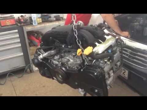 Ремонт мотора ej20 Subaru Forester