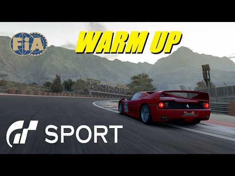 GT Sport FIA Warm up Open Lobbies