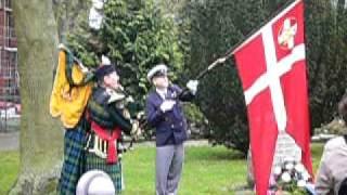 preview picture of video 'Dragør Kirke, Markering af 60 året for Befrielsen, maj 2005'