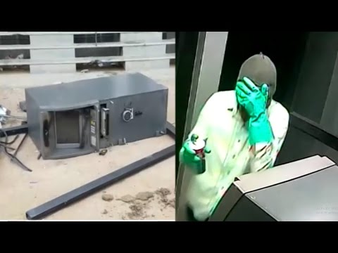Live Robbery In Atm Full Cctv Footage