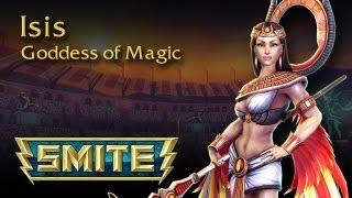 SMITE God Reveal - Isis, Goddess of Magic