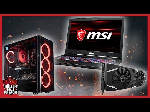 Fette Rabatte auf GAMING-PCs, -Laptops & RTX-Grafikkarten - Höllen-Deals zur Höllenmaschine #1_2019