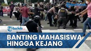 Beredar Video Polisi Banting Peserta Demo hingga Kejang, Polda Banten Pastikan akan Beri Sanksi