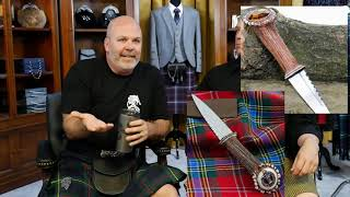 Is A Stag Horn Sgian Dubh Formal?