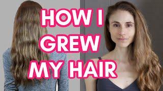 HOW I GREW MY HAIR LONG & HEALTHY| DR DRAY