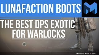 Destiny 2 Lunafaction Boots Review: The Best Warlock PVE Exotic