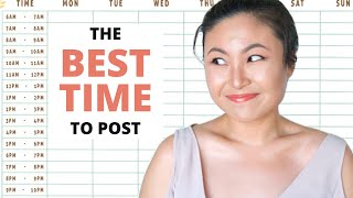 The BEST time to post on Facebook, Instagram and LinkedIn! (Latest)