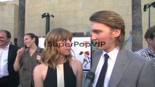INTERVIEW: Paul Dano, Zoe Kazan on the film at Fox Search...