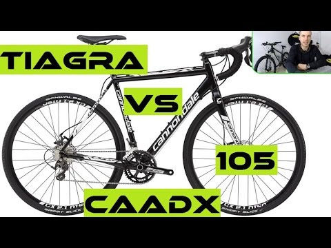 Cannondale CAADX Shimano Tiagra better that CAAD X 105? Cyclocross bikes