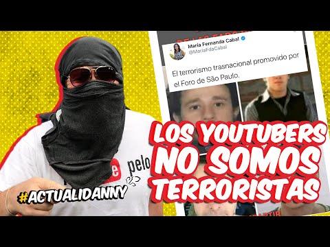 A MARCHAR ESTE 21 DE NOVIEMBRE / LOS YOUTUBERS NO SOMOS TERRORISTAS
