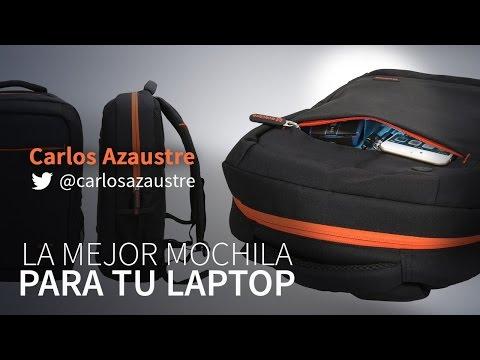Review de mi mochila para el portátil / laptop