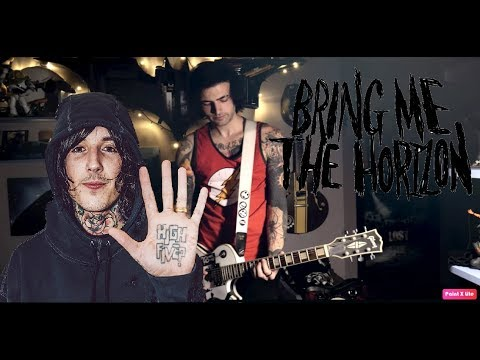 Bring Me The Horizon - Mother Tongue (BMTH Old School Guitar Cover) + TAB - SymonIero