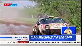 Dereva Stig Blomqvist ashikilia uongozo wa mashindano wa magari ya East Africa Rally classics