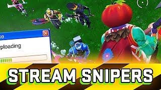 Twitch Stream Snipers Win 10,000 V-Bucks If they kill me (Part 1 Challenge)