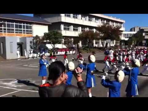2012大沢少年少女鼓笛隊 野球開会式九沢小?