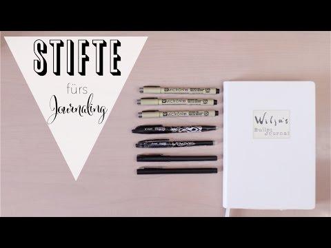 Bullet Journal | Empfehlenswerte Stifte