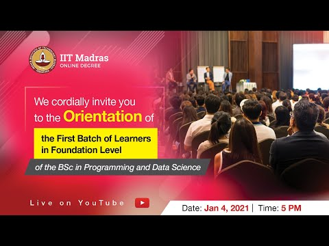 LIVE _ Online Orientation for Learners in Foundation Level of the BSc Degree