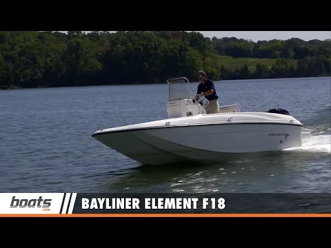 Bayliner Element F18: Fishing Boat Review / Performance Test