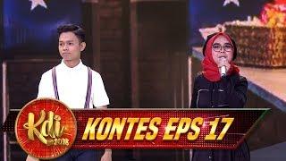 Sangat Memukau Abi Beradu Peran Drama Musikal Bersama Ria Ricis - Kontes KDI Eps 17 (28/8)