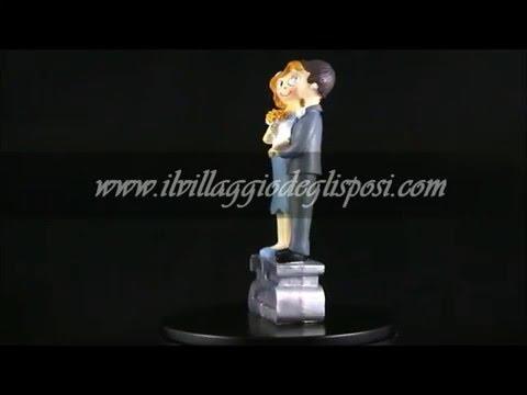 Video - Cake topper per anniversario 25 anni di matrimonio